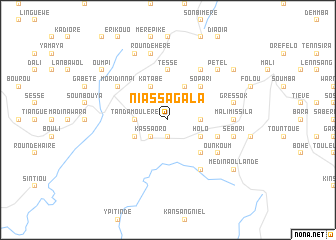 map of Niassagala