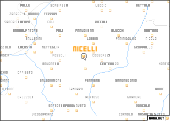 map of Nicelli
