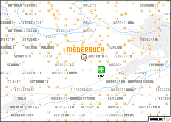 map of Niederbuch