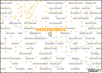 map of Niederbumberg