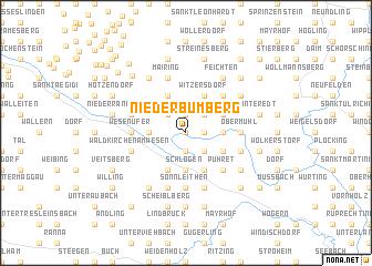 map of Niederbumberg
