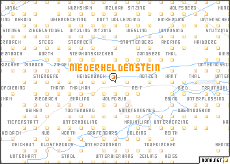 map of Niederheldenstein
