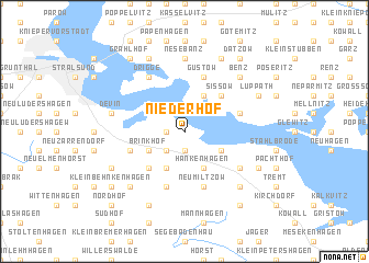 map of Niederhof