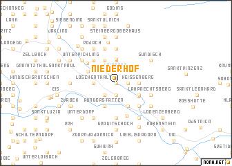 map of Niederhof