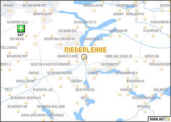 map of Niederlehme