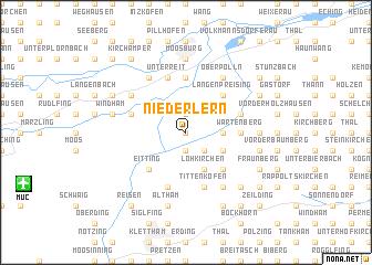 map of Niederlern