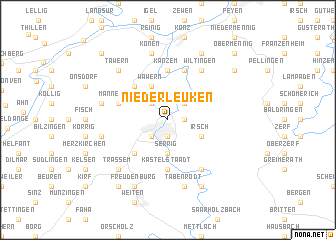map of Niederleuken