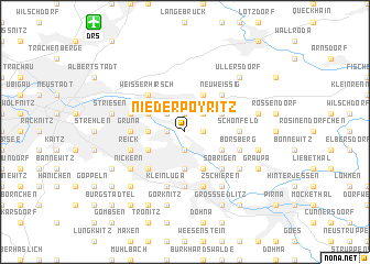 map of Niederpoyritz