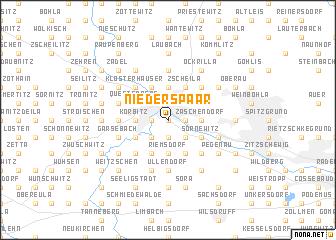 map of Niederspaar