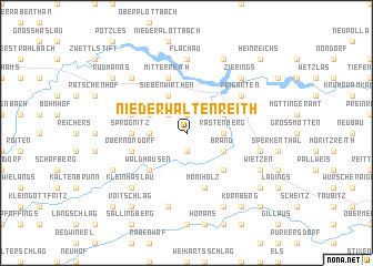 map of Niederwaltenreith