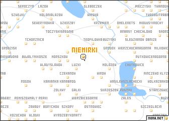 map of Niemirki