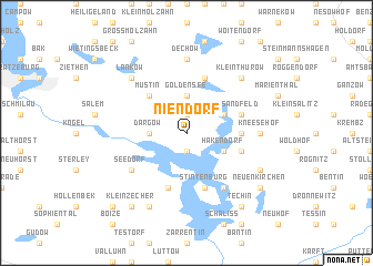map of Niendorf