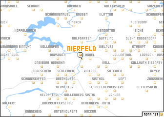 map of Nierfeld