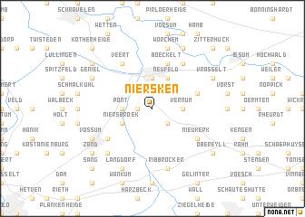 map of Niersken