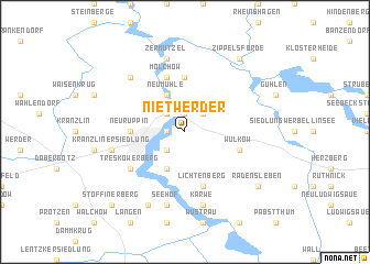 map of Nietwerder