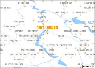 map of Nietwerder