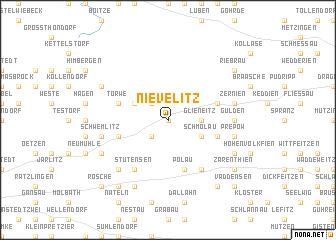 map of Nievelitz