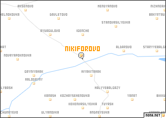 map of Nikiforovo