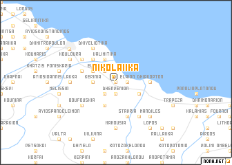 map of Nikolaíika