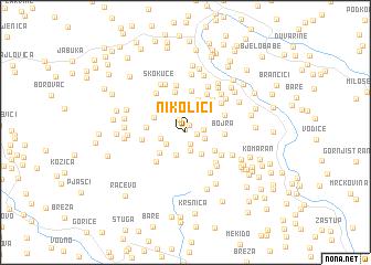 map of (( Nikolići ))
