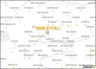 map of Nikolo-Titeli