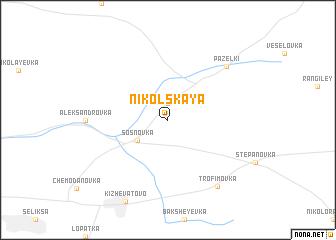 map of Nikol\