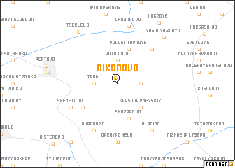 map of Nikonovo