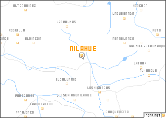 map of Nilahue