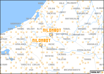 map of Nilombot