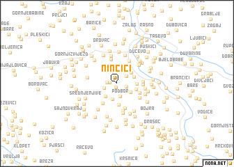map of Ninčići