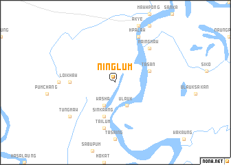 map of Ninglum