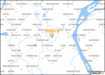 map of Ningya