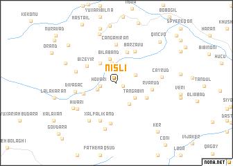 map of Nisli