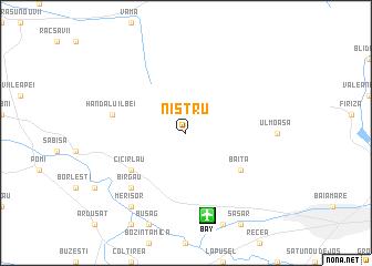 map of Nistru