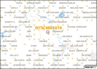 map of Nitschareuth
