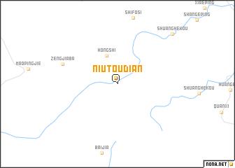 map of Niutoudian