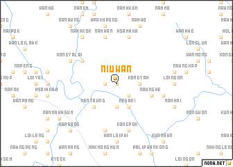 map of Niu-wān