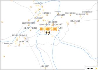 map of Nīvān Sūq