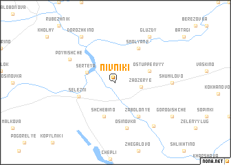 map of Nivniki