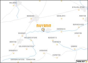 map of Nivyanin