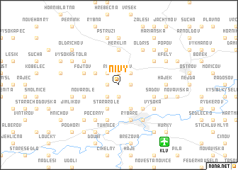 map of Nivy