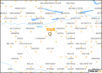 map of Niwa