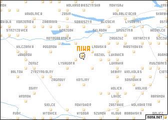 map of Niwa