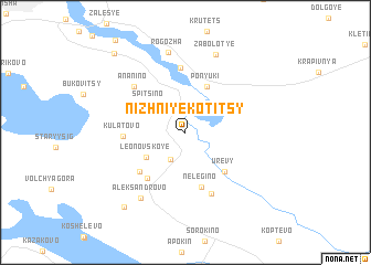 map of Nizhniye Kotitsy