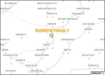 map of Nizhniye Tikkuly