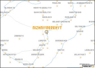 map of Nizhniy Peremyt