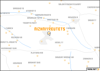 map of Nizhniy Reutets