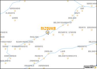 map of Nizovka