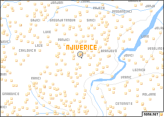 map of Njiverice