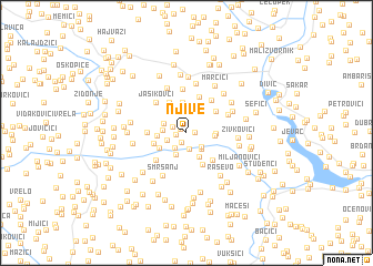 map of Njive